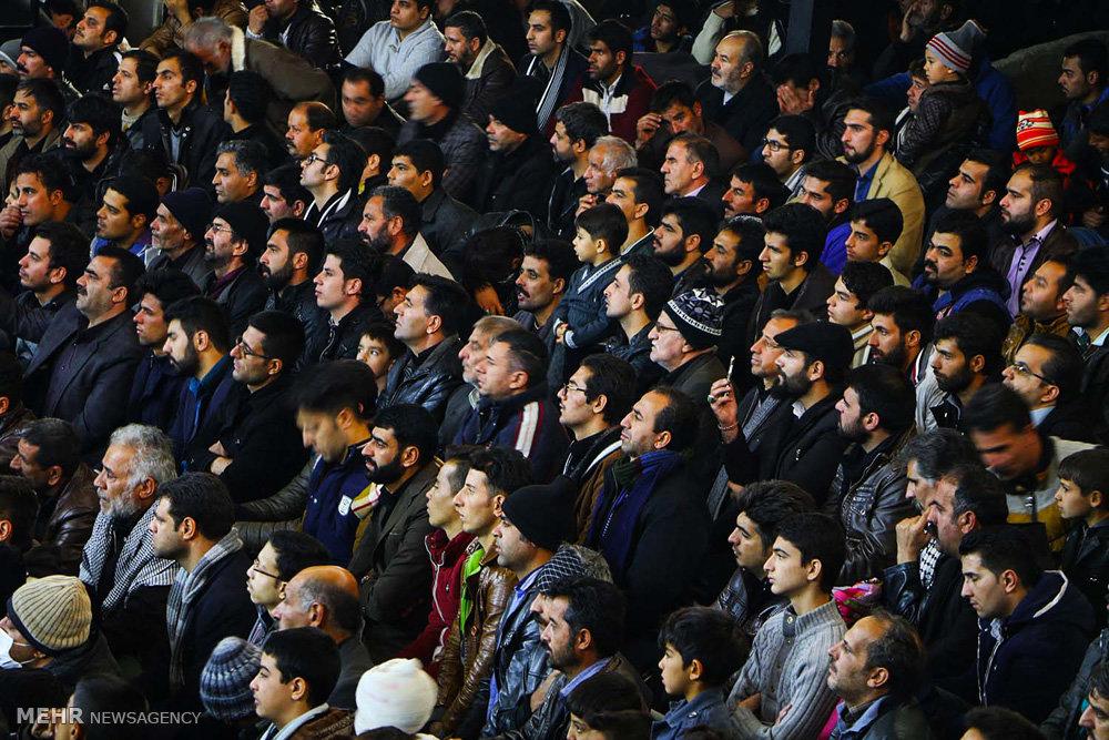 مراسم تعزیه خوانی در روستای قودجان خوانسار