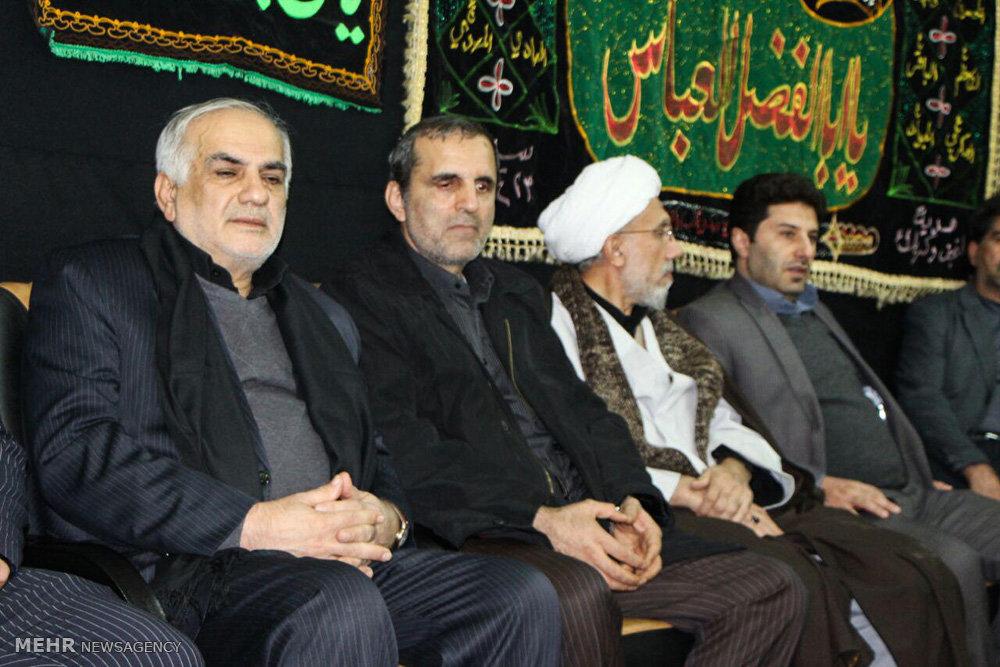 تجمع هیئت های عزاداری مازندران در مشهد مقدس