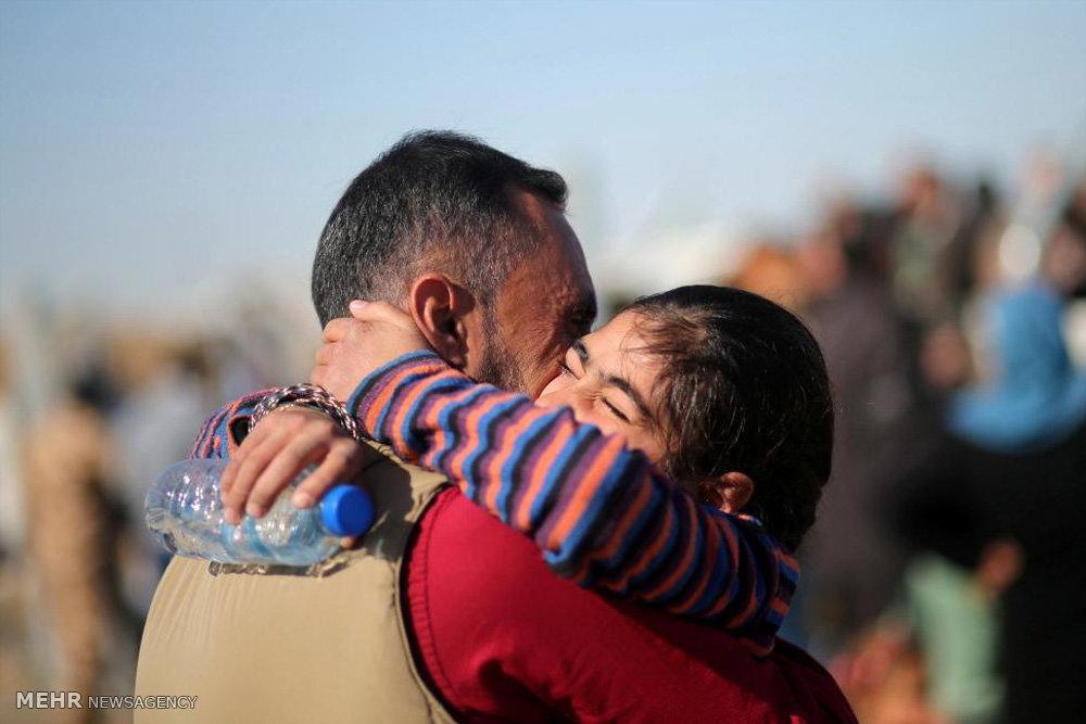 عراقی های آزاد شده از دست داعش