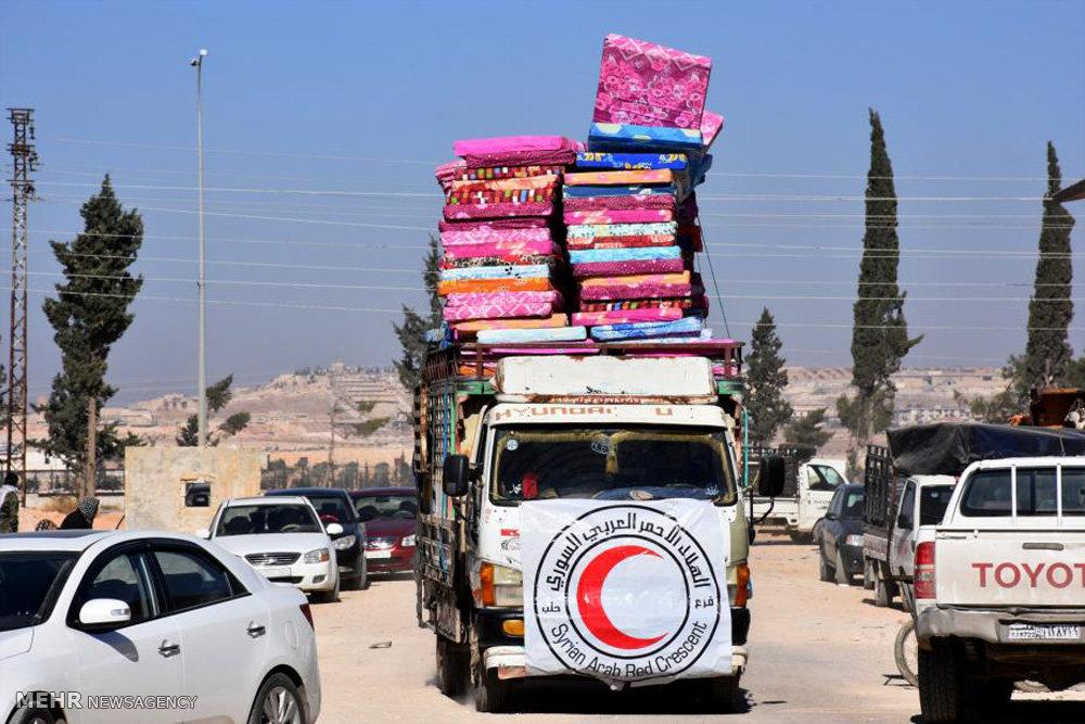 پیشروی های ارتش سوریه در حلب