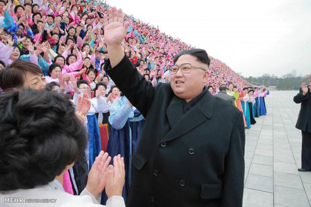 لباس پوشیدن رهبر کره شمالی