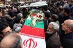تشییع پیکر شهدای آتش نشان از دانشگاه تهران