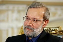 لاريجاني يوكد استمرار ايران في التخندق فی صف محور المقاومة وسوريا