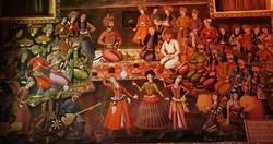 Shah Abbas II courtiers celebrating Noruz