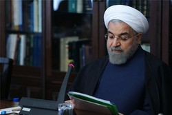 Rouhani condoles with Indonesia over quake casualties