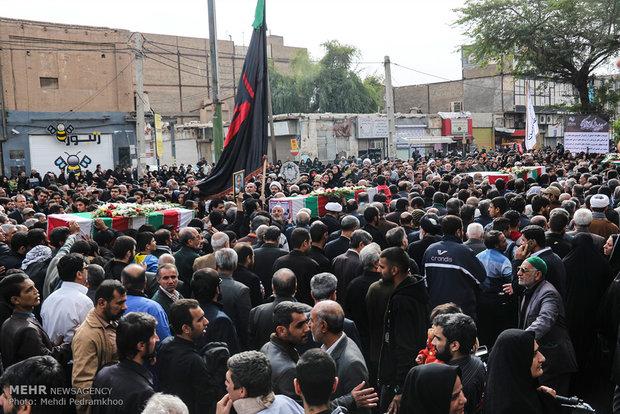 پیکرمطهر ۲۰ شهید دوران دفاع مقدس وارد خاک ایران اسلامی شد