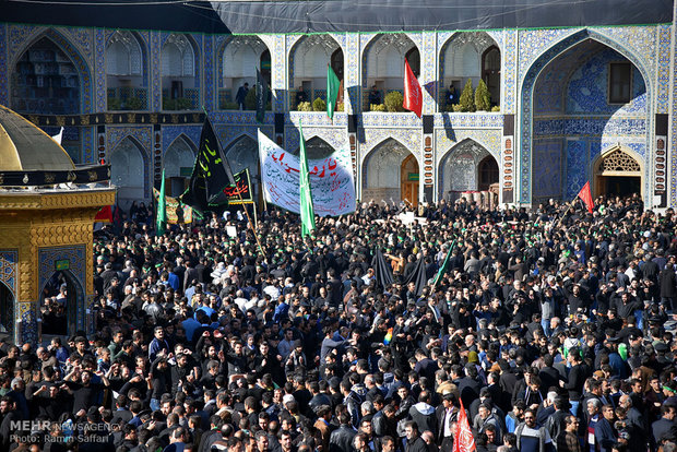 Martyrdom anniversary of Imam Reza (AS) across Iran