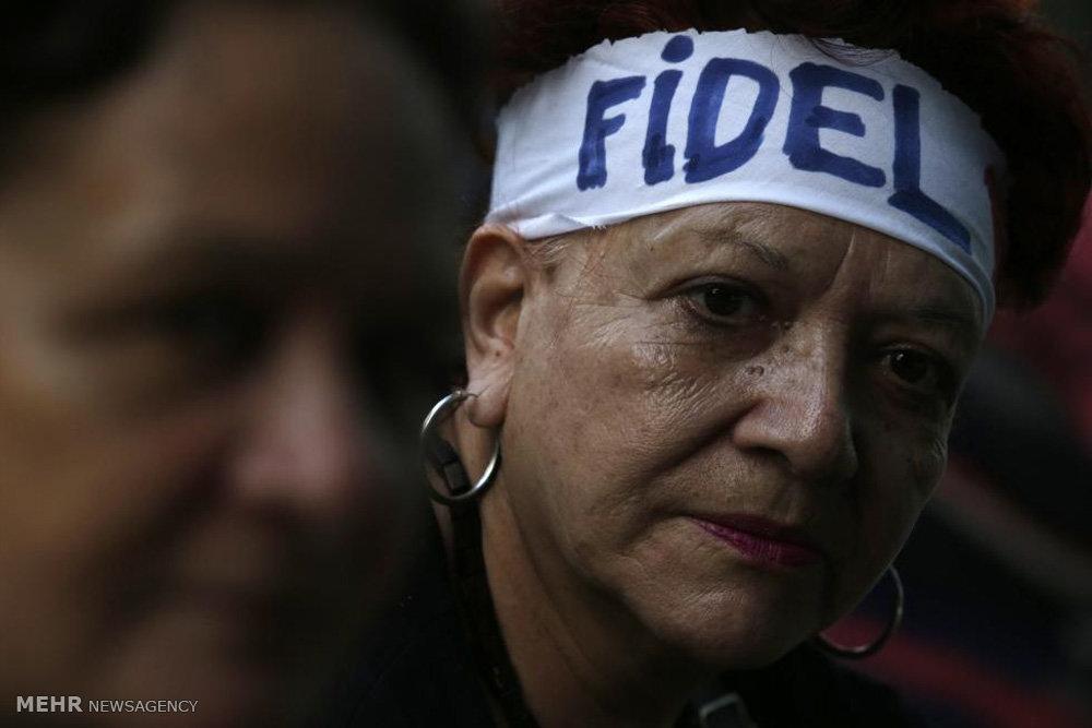 رهبران جهان در مراسم یادبود کاسترو
