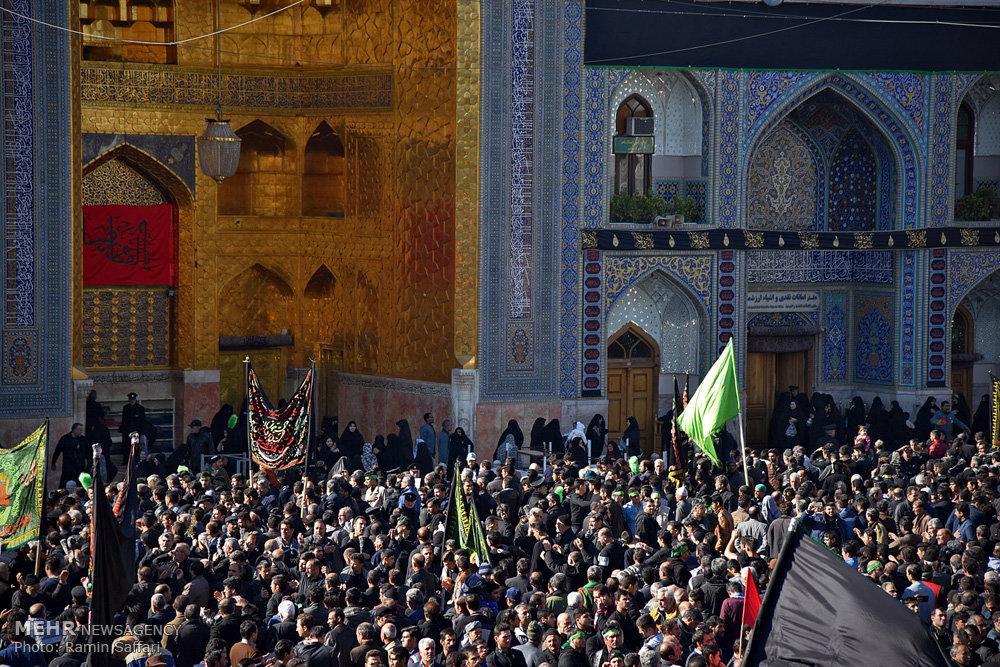مراسم عزاداری شهادت امام رضا (ع) در مشهد مقدس