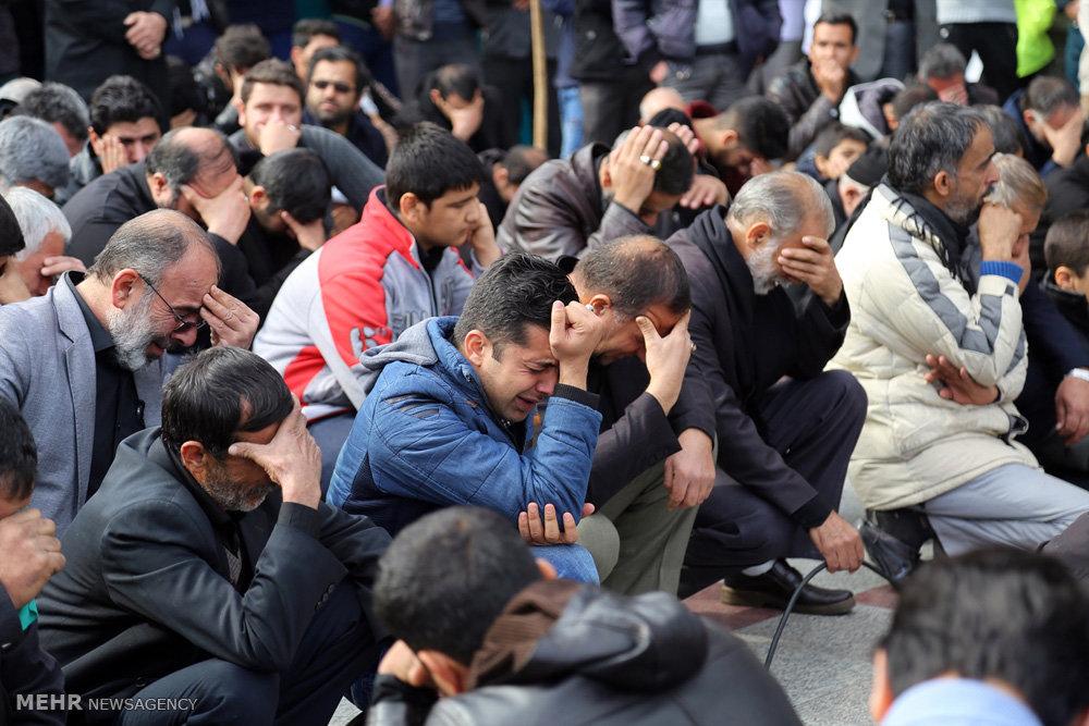 عزاداران رضوی در حرم اخت الرضا(ع)