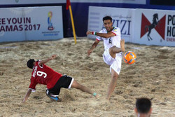 Beach Soccer World Cup: Iran beat Switzerland 4-3