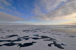 زنگ خطر ذوب شدن کوه های یخی قطب جنوب/ فیلم