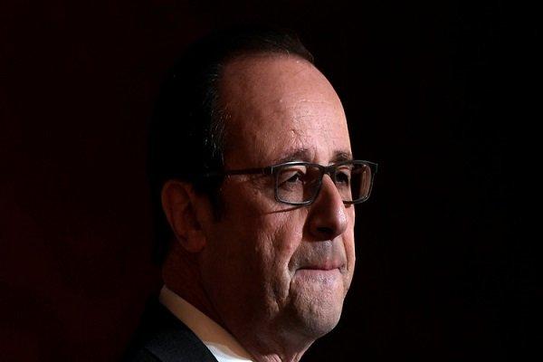 اولاند از نامزدی برای انتخابات ریاست جمهوری فرانسه انصراف داد