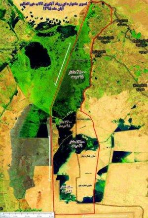 وضعیت آبگیری تالاب هورالعظیم در سه سال گذشته اعلام شد