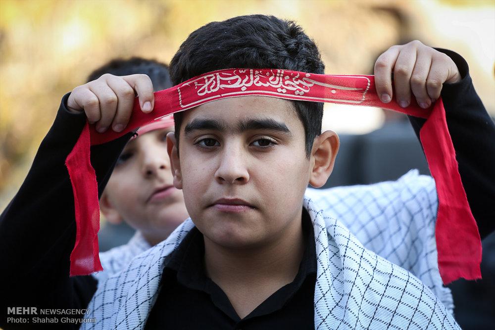 سالروز تدفین پنج شهید گمنام در میدان ابوذر