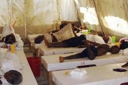 شیوع وبا در هائیتی