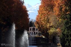 پاییز در باغ شاهزاده ماهان کرمان