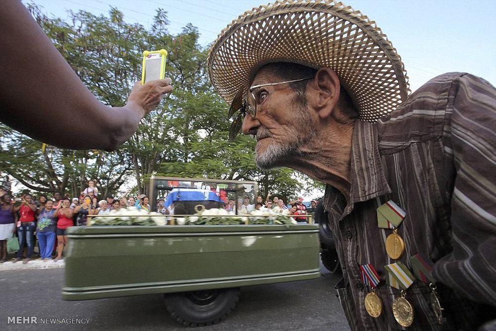 آخرین سفر فیدل کاسترو