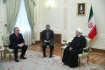 Iran, Russia to continue war on terror, Rouhani says