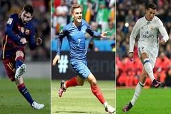 الفيفا يكشف عن أسماء المرشّحين الثلاثة لجائزة أفضل لاعب