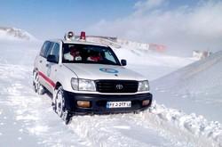 ۳۰۶ نفر گرفتار شده در برف و کولاک اردبیل امدادرسانی شدند