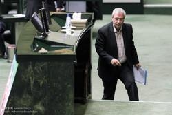 علی ربیعی در صحن مجلس