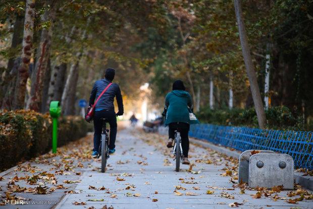 İsfahan'da sonbahar havası