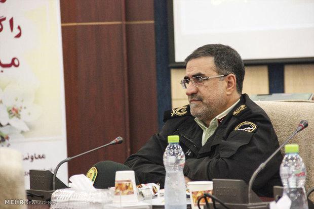 سردار علی اکبر جاویدان فرماندهی انتظامی گلستان