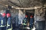 آتش سوزی یک واحد مسکونی در سمنان مهار شد