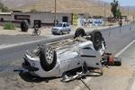 سه مورد واژگونی بر اثر بارندگیهای شب گذشته در اصفهان اتفاق افتاد