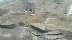 احتمال آبگرفتگی و رانش کوه در آزاد راه «پل زال» هنگام بارندگی ها