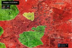 الجيش السوري يستعيد أحياء جديدة في حلب الشرقية قرب المطار