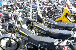 ۶۰ دستگاه موتورسیکلت متخلف در یزد توقیف شد