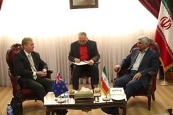 دیدار وزیرعلوم وزیرتجارت نیوزلند