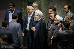 الرئيس روحاني يحضر البرلمان الثلاثاء المقبل للرد على اسئلة النواب