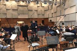 سازهای ارکستر سمفونیک اکراین برای «سوفی و دیوانه» کوک شد
