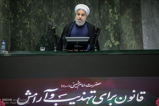 روحاني يؤكد على اهمية المشاركة  الواسعة في الانتخابات القادمة