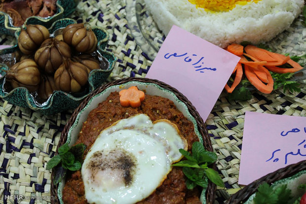 مهرجان الأطعمة المحلية الايرانية في كيلان