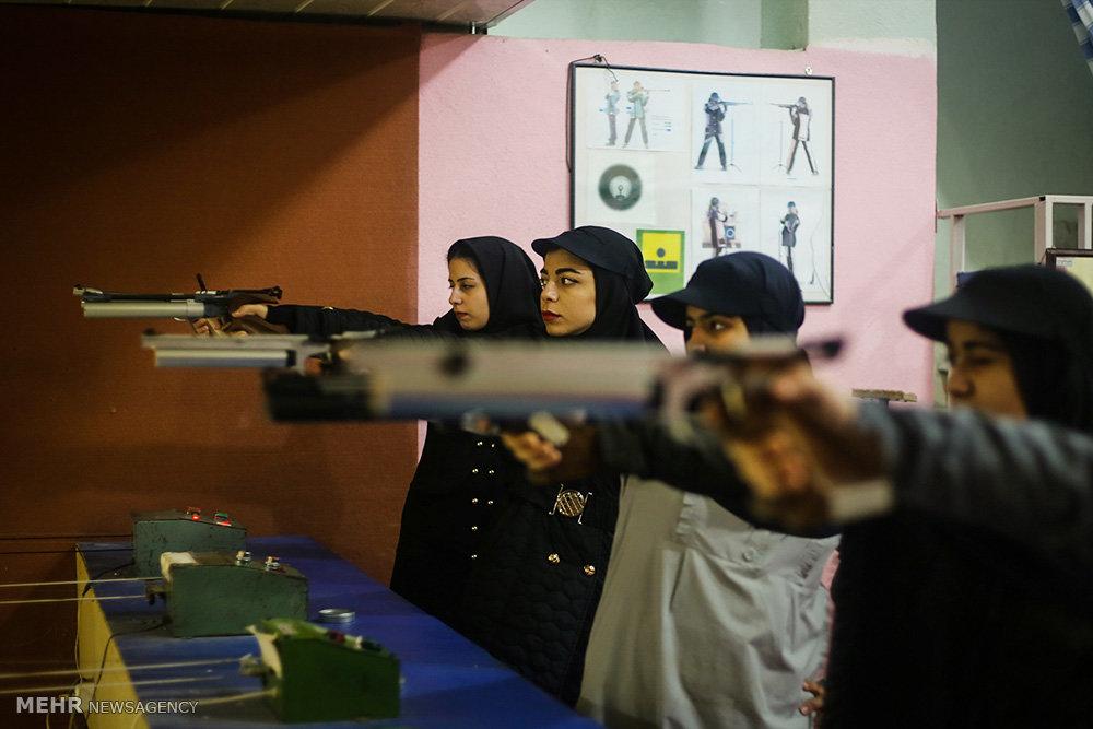 مخيم رياضة الرماية للشابات واليافعات في محافظة كلستان