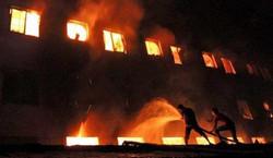 """مصرع 11 شخصاً بحريق """"هائل"""" في فندق بمدينة كراتشي الباكستانية"""