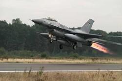 تحطم طائرة أردنية من نوع أف 16