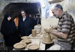 CHTHO director visits world pottery capital