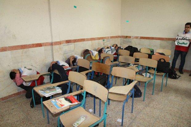 مانور زلزله و ایمنی در مدارس اردبیل برگزار میشود