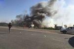 ۲۱ کشته و ۳۵ زخمی حاصل انفجار اتوبوس بمب گذاری شده در شرق موصل