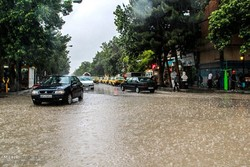 بارش باران بجنورد
