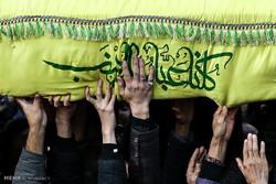 شاندیز میزبان پیکر شهید مدافع حرم شد