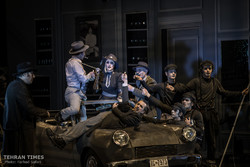 """Iranian troupe performs """"Mississippi Dies Seated"""""""