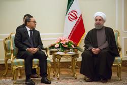 دیدار رییس شورای مشورتی اندونزی با روحانی