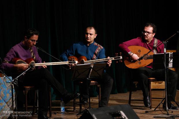 Salar Aghili performs in Hamedan