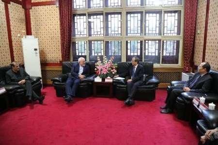 Iran, China discuss scientific, academic coop.